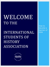 Welcome to the International Students of History Association